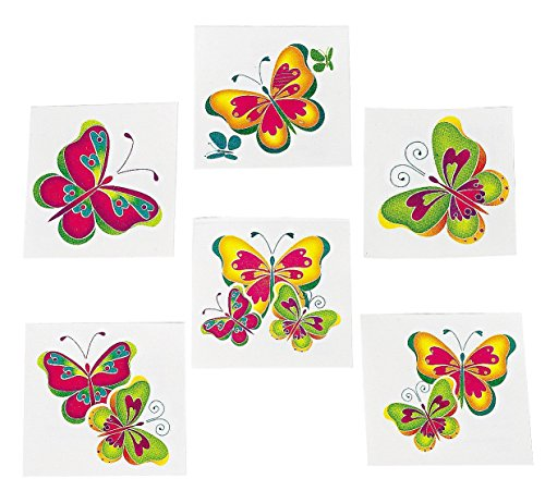Kids Temporary Butterfly Tattoos 72