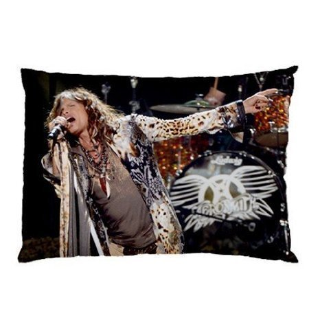 - ZhouBrand Stevens Tyler Aerosmith 16 by 24 Inch Zippered Cotton And Polyester Rectangle Pillowcases Protector Case