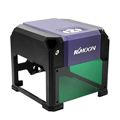 KKmoon DIY Máquina de Grabado Láser de Escritorio Automática Compacta Impresora con Logotipo Máquina de Tallado