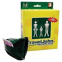 Travel John Disposable Resealable Urinals