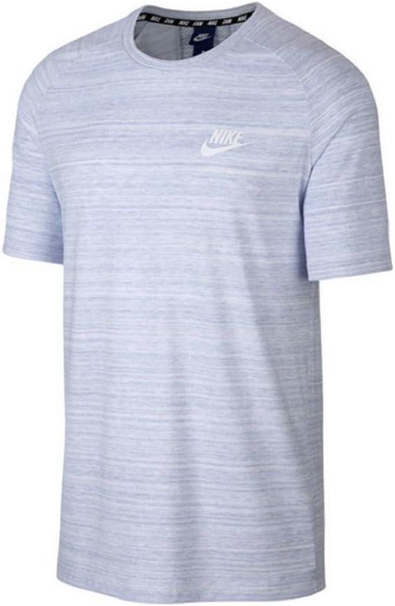 T shirt Nike Advance 15 Blanc Chiné | FootKorner
