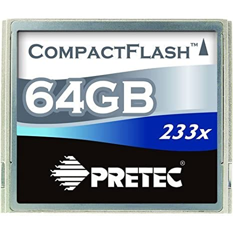 64 GB 233X 35mb Pretec/S Tarjetas de Memoria Compact Flash ...