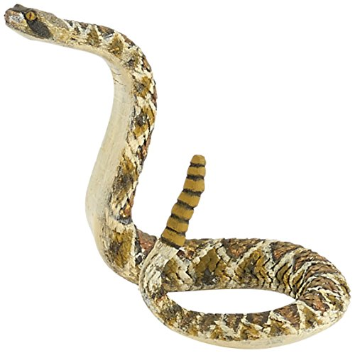Papo Rattlesnake Figure, Multicolor ()
