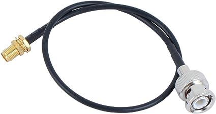 4Pcs RG316 BNC Male Plug to BNC Male Plug RF Pigtail Jumper Cable Adapter UE