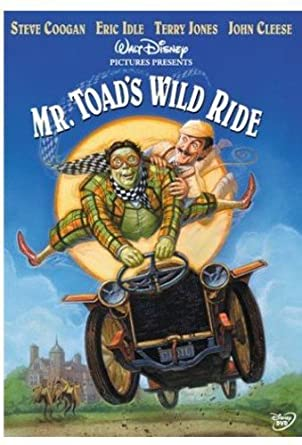 Image result for mr. toad's wild ride