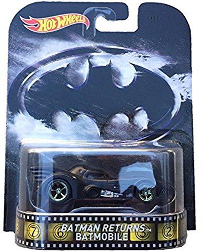 Hot Wheels Batman Returns Batmobile 2015 Retro Series 1/64 Die Cast Vehicle