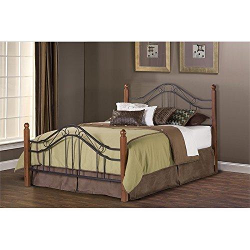 Hillsdale Furniture 1010BQ Madison Bed Set, Queen, Textured Black
