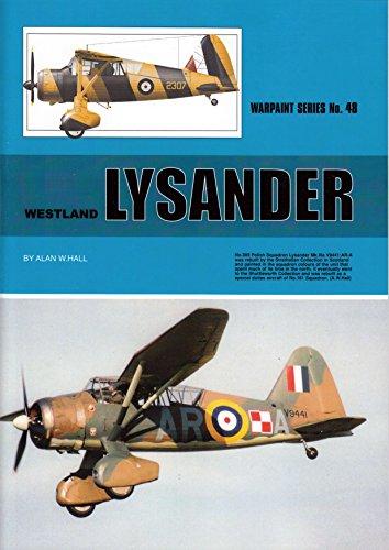 WPT048A Warpaint Books - Westland Lysander