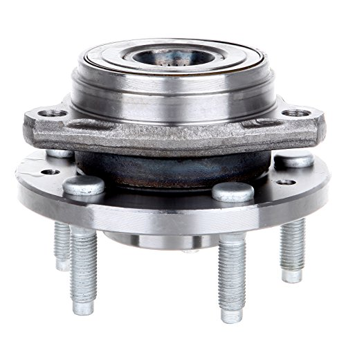 ECCPP Wheel Hub Bearing Assembly New Premium Bearing and Hub Assembly Front 5 Lugs for Ford 1999-2003 Compatible with ()