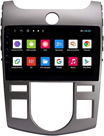 Android 10 Autoradio Car Navigation Stereo Multimedia Player GPS Radio IPS 2.5D Touch Screen for KIA Forte 2009-2017 MT