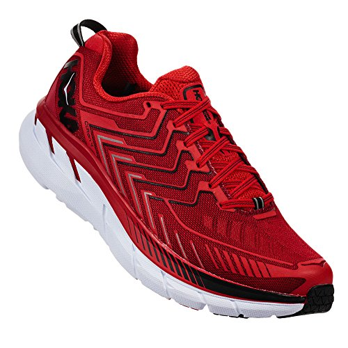 Hoka One One M Clifton 4 Haute Red-High Talla 41 EUR