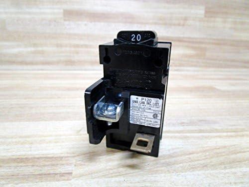 Siemens P120 120V 1-Pole Molded Case Circuit Breaker