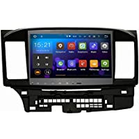 SYGAV Android 5.1.1 Lollipop Quad Core 10.2 Inch In-dash Car Stereo Video Player 2 Din 1024x600 GPS Nav Sat for Mitsubishi Lancer Galant with Wifi Bluetooth Radio