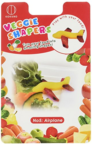 CuteZCute Vegetable Cutter 3D Airplane