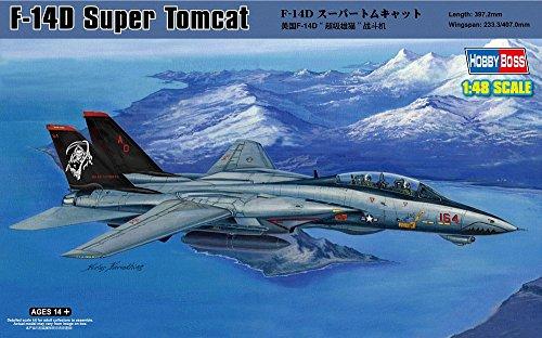 - Hobby Boss F-14D Tomcat Airplane Model Building Kit
