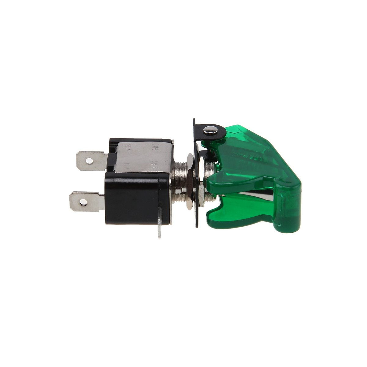 Possbay Car Auto Toggle LED Switch Green Missile Rocket On Off for Various Light Lamp 12V