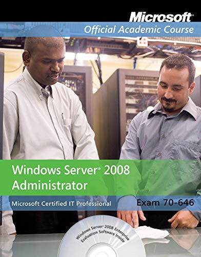 Summit Manual Range - Exam 70-646: Windows Server 2008 Administrator with Lab Manual Set