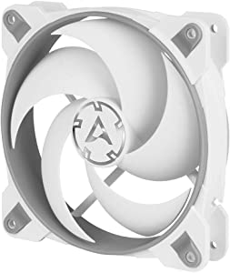 ARCTIC BioniX P120-120 mm Gaming Case Fan with PWM Sharing Technology (PST), Pressure-optimised, Very Quiet Motor, Computer, Fan Speed: 200–2100 RPM - Grey/White