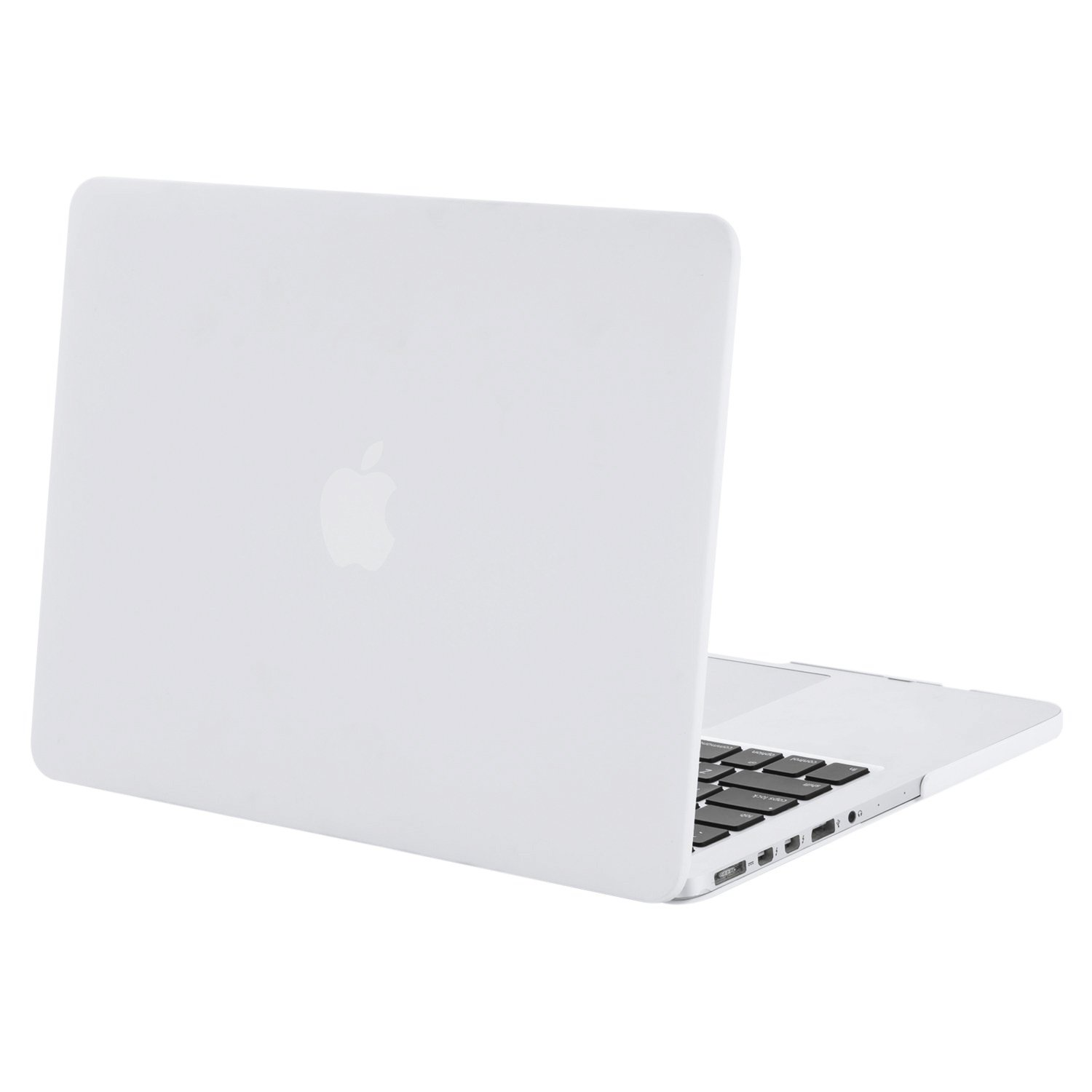 MOSISO Plastic Hard Shell Case Cover Only Compatible with Older Version MacBook Pro Retina 13 Inch (Models: A1502 & A1425) (Release 2015 - end 2012), White