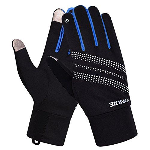 (eones)ランニンググローブ レディース 手袋 スマホ対応 反射素材 アウトドア 自転車 通勤 通学
