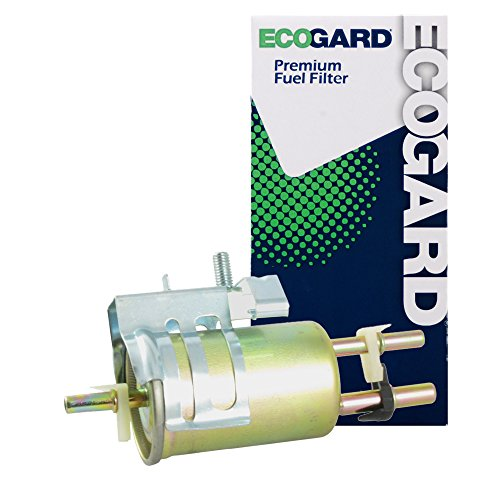 ECOGARD XF65376 Engine Fuel Filter - Premium Replacement Fits Ford Ranger/Mazda B3000, B4000, B2500, B2300