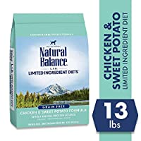 Natural Balance L.I.D. Limited Ingredient Diets Dry Dog Food, Grain Free