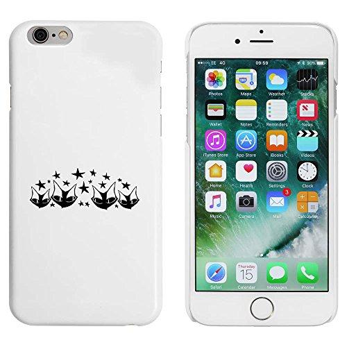 Blanc 'Motif à Quatre Chats' étui / housse pour iPhone 6 & 6s (MC00004822)