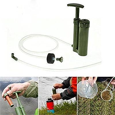 Kingnew Filtro de Agua purificador de Aire Limpieza Bomba portátil ...