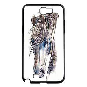 Horse Design Pattern Hard Skin Back Case Cover Potector For Samsung Galaxy Note 2 Case HSL411854