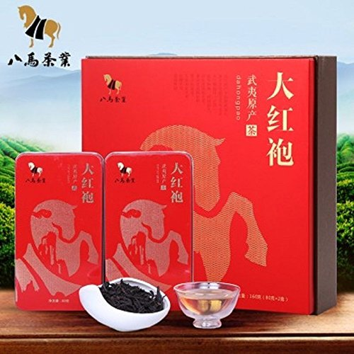 Wuyishan DaHongPao Tea Wuyi rock tea Chinese Bama tea 160g 八马茶叶 大红袍 武夷山原产 by Yichang Yaxian Food LTD.