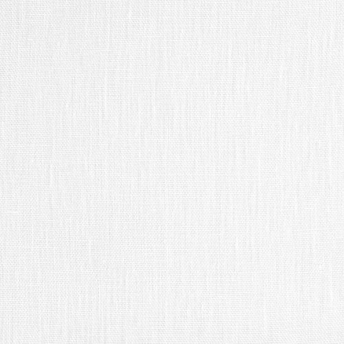 White Linen Scrim Fabric - By the Yard