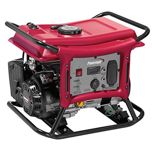 Powermate PC0141400 1400 Watt Gas Powered Portable Generator