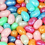 Jelly Belly Shimmer Pearlescent Jewel Collection Assorted Jelly Beans 1LB Bag