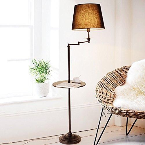 MOMO Stehlampe American Stehleuchte Wohnzimmer Lampe Schlafzimmer Boden Tischlampe Wohnzimmer Nachttisch Lampe Eisen - Boden In Shops Uk