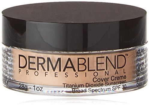 Dermablend Cover Foundation Creme SPF 30, Pale Ivory Chroma, 1 Ounce by Dermablend (Dermablend Creme Kit)