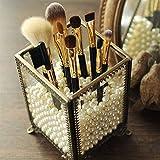PuTwo Makeup Organizer Vintage Make up Brush Holder