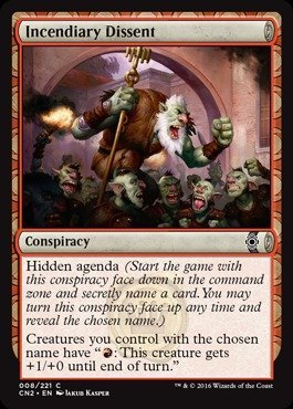 Magic: the Gathering - Incendiary Dissent (009/221 ...