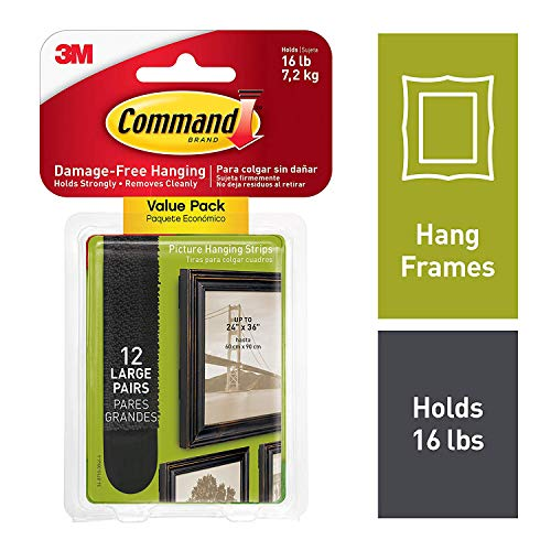 Command 17206BLK-12ES Picture Hanging
