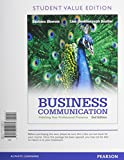 Business Communication : Polishing Your Professional Presence, Student Value Edition Plus 2014 MyBCommLab with Pearson EText -- Access Card Package, Shwom, Barbara G. and Snyder, Lisa G., 0133891585