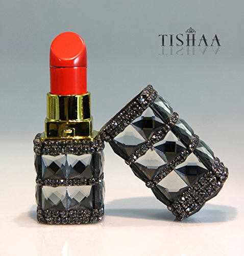 TISHAA Gorgeous Bling Bling Fashion Jewelry Accessory Camouflage Cigarette Lighter Fire Starter (Gray Silver)