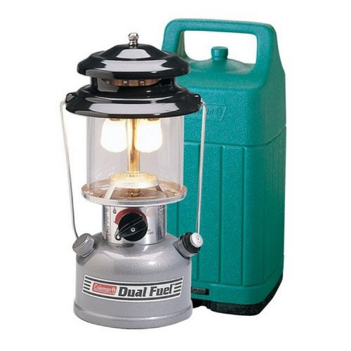 Coleman Premium Dual Fuel Lantern with Hard Carry Case Gas Lantern