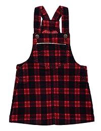 """OshKosh Baby Girls' """"Redwood"""" Velvet Overall Skirt"""