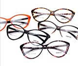 Agstum Ladies Womens Cat eye TR90 Glasses Frames Optical Eyeglasses 59mm