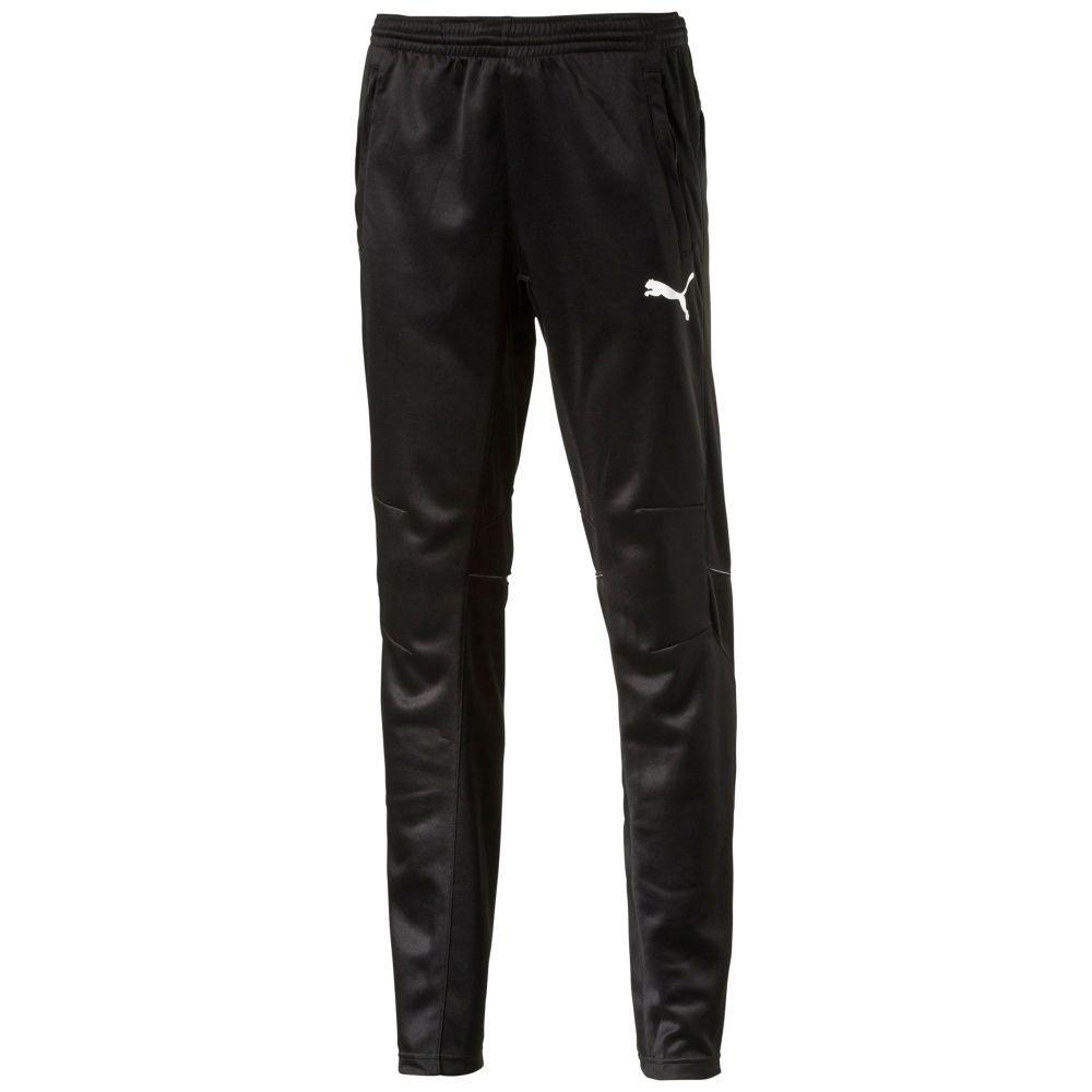 PUMA Men's Training Pant, Black/White, XS