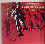 A Bridge Too Far - Near Mint Original Motion Picture Score Stereo Lp & Original Gatefold Cover - United Artists 1977 - Movie Featuring: Sean Connery - Ryan O'Neal - Robert Redford & Others