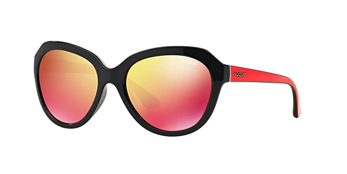 Gafas de Sol Vogue VO2845 BLACK - RED MULTILAYER: Amazon.es ...