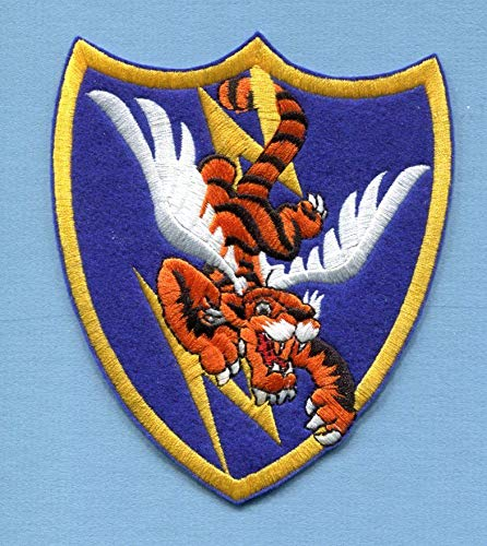 Embroidered Patch-Patches for Women Man- 23rd Fighter Group WW2 Flying Tigers ()