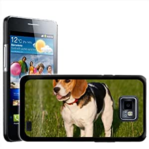 Fancy A Snuggle - Carcasa rígida para Samsung Galaxy S2 i9100, diseño de beagle