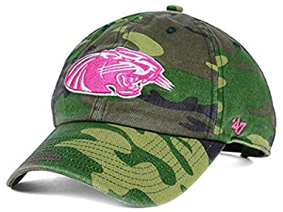 Wisconsin Milwaukee Panthers NCAA Camo & Pink '47 Fashion Clean-up Women's Adjustable One Size Hat by '47