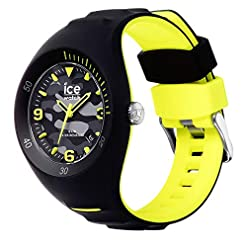 Ice-Watch – P. Leclercq Black army – Black men's wristwatch with silicon strap – 017597 (Medium) Recommended deals